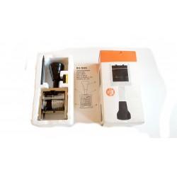 Timbro numeratore automatico in acciaio b6k 6 colonne 5mm, B6K.4,5BLOCK