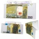 Portafoglio a Banconota da Euro 200