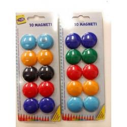 Calamite Colorate per Lavagna Magnetica 20 pz