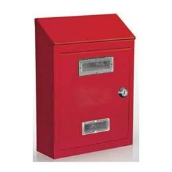 Cassetta Postale Rossa in Metallo
