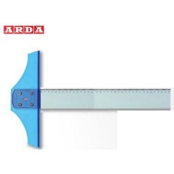 Riga a T 80 cm Testa Fissa Arda