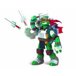 Ninja Turtles con funzione lanciatore Raffaello