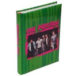 Diario Scuola One Direction Verde