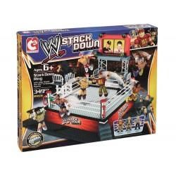 WWE StackDown Battle Platset Ring Costruzioni