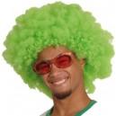 Parrucca Afro Verde
