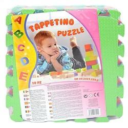 Tappeto Puzzle Lettere 10 pezzi