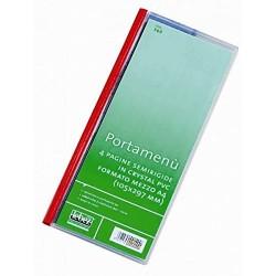 Portamenù personalizzabile Formato Mezzo A4 (105x297 mm)