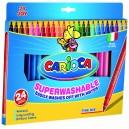 Pennarelli Superlavabili Carioca 24 pz