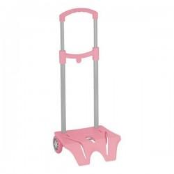 Trolley per zaino scuola Seven - Colore: rosa