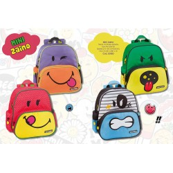 Mini zaino Smiley World Faccine