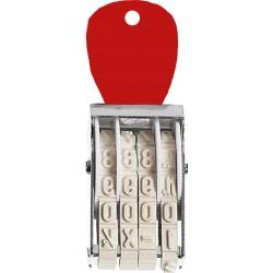 Timbro Numeratore a 4 colonne, Altezza carattere mm. 7