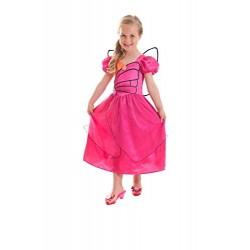 Barbie Mariposa Costume di Carnevale 5-7 anni