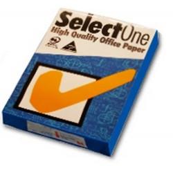 Carta A4 80 gr multiuso bianca grandi tirature 1x500 fogli Select One