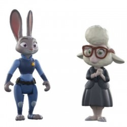 Judy Hopps & May Bellwether - Zootropolis Disney