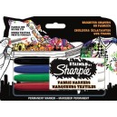 Sharpie Stained - 4 Pennarelli Indelebili Colori Assortiti