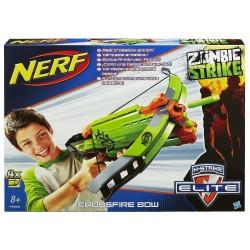 Nerf - Zombie Strike, Crossfire Bow - N-Strike Deluxe
