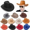 Cappello da cowboy colori assortiti