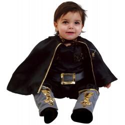 Costume di Carnevale da Cavaliere Nero - Età 0-1 Anni