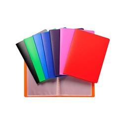 12 Portalistini 30 Fogli A4 Colori Assortiti (M)